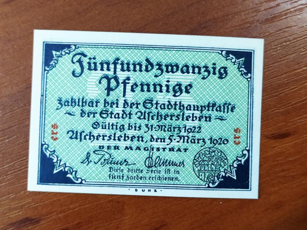 Германия Нотгельды  25   пфеннигов  распродажа коллекции ( М 2 ) более 5000 шт