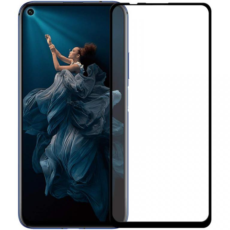 Защитное стекло Full screen PowerPlant для Huawei Nova 5T, Black (GL608003)