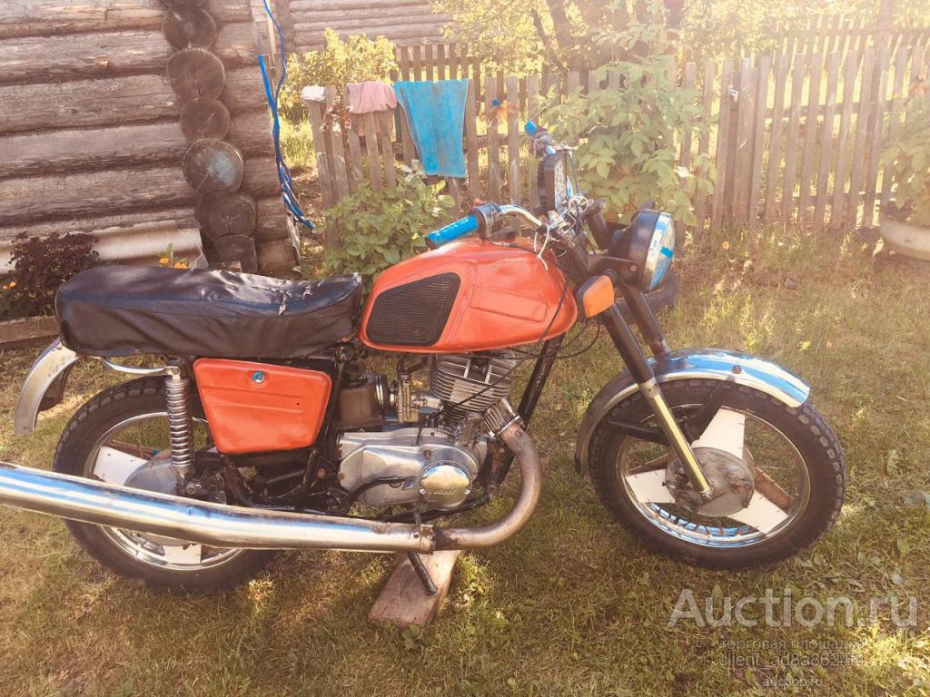 Советский мотоцыкл иж планета 5