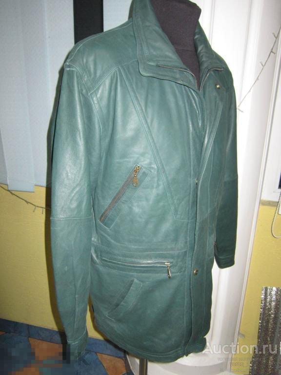 Модная,качественная кожаная   муж.  Куртка  ! !