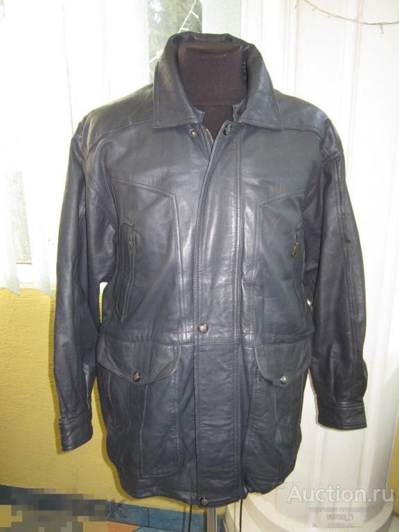 муж. кожаная куртка   - MORENA -