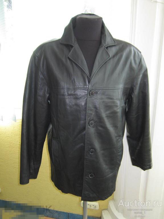 Качественная  муж. кожаная куртка -  ANGELO LITRICO I