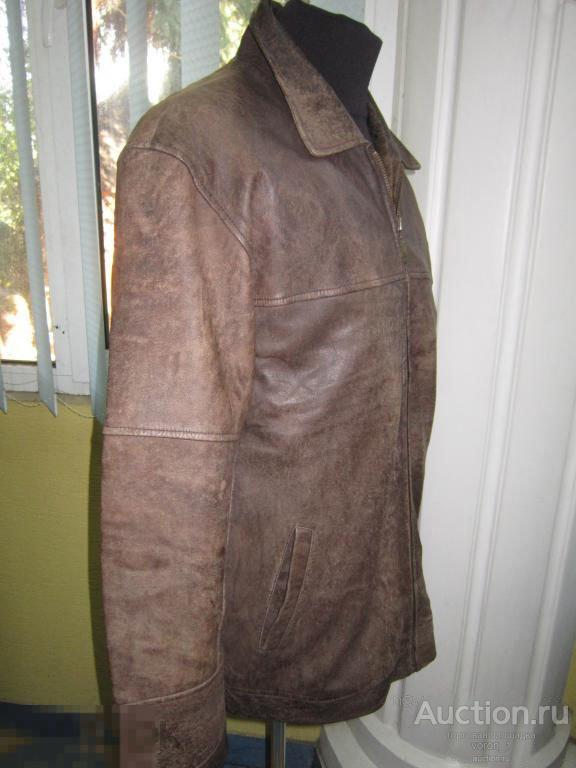Качественная  оригинальная муж. кожаная куртка - CAMEL ACTIVE