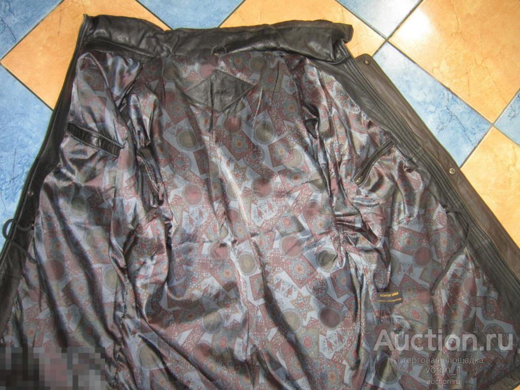 Качественная  оригинальная кожаная муж. куртка  - Prince -