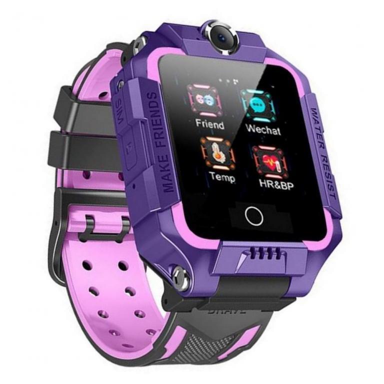 Часы Smart Baby Watch T10SL с видео и термометром (фиолетовый)