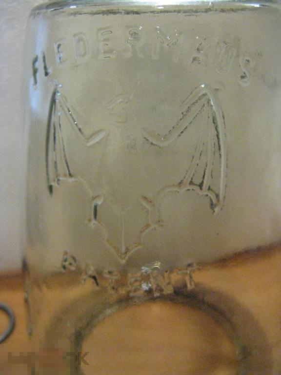 стекло для лампы Летучая мышь фирмы Патент