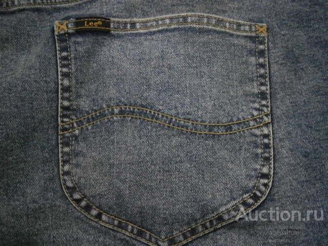 BIG SIZE Джинсы мужские от Lee Vintage тяжеловесный деним 100% cotton р. W60 L32 Made in Mexico !