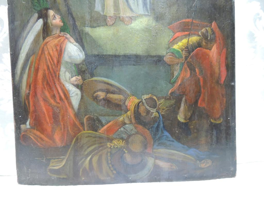 Икона Воскресение Христово Дерево Краски Темпера Размер 60Х38 см С Рубля