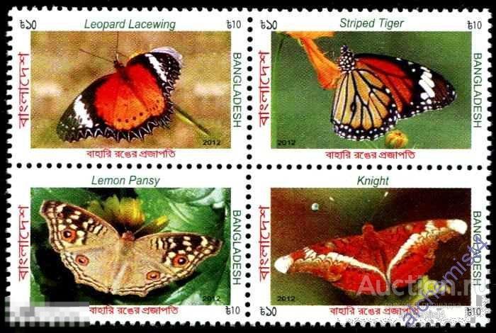 Бангладеш 2012 ** Насекомые: Бабочки