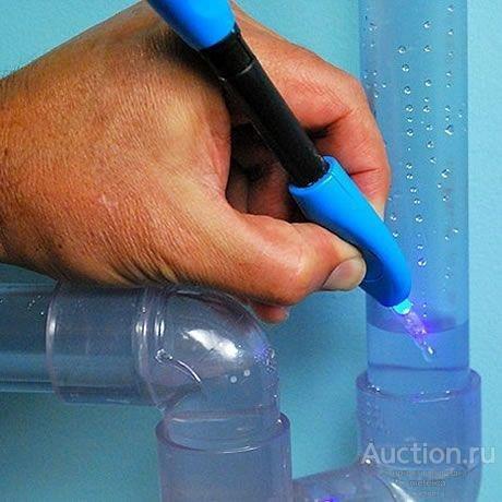 Лазерный клей-смола жидкий пластик для стекла, метала, пластика и дерева Lazer Bond