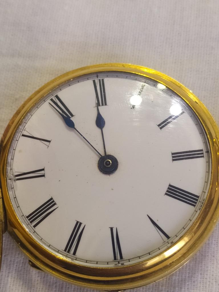 Шикарные золотые карманные часы 56 пробы. Резные. Очень редкий дуплексный ход. DUPLEX. На ходу.