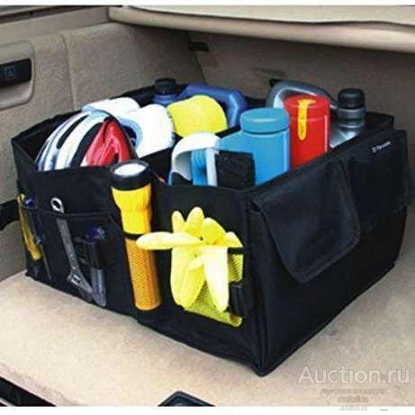 Сумка , органайзер для автомобиля Smart Trunk Organizer в багажник