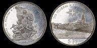 Швейцария. 5 Франков 1881 год. Фото и видео монеты.