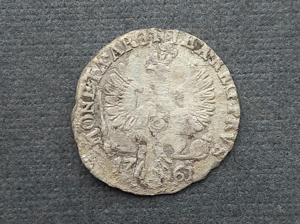3 гроша 1761 Елизавета для Пруссии