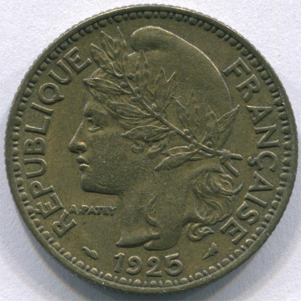 Того 2 франка 1925 г