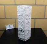 Винтаж ваза 36 см. для цветов бисквит фарфор Kaiser 144 Бавария Германия ракушки морской рельеф Frey
