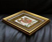 Винтаж Симон Ушаков Икона на фарфоре Архангел Михаил Германия Tettau Теттау