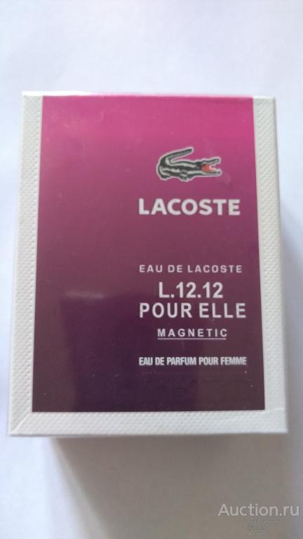 Туалетная вода Lacoste,100 ml, Женская! Новая!