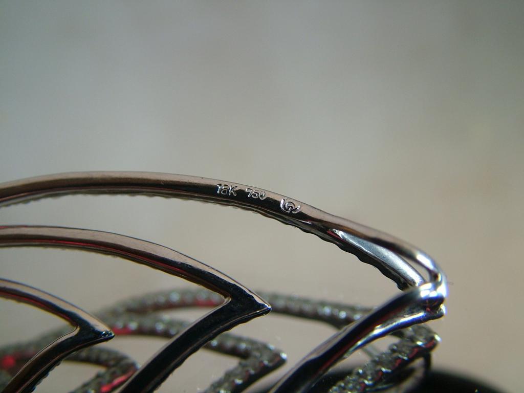 кулон подвеска ЗОЛОТО 750 Бриллианты 5.28ct