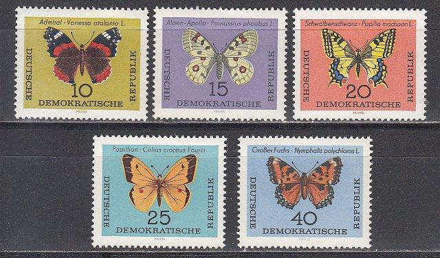 ГДР Бабочки 1964