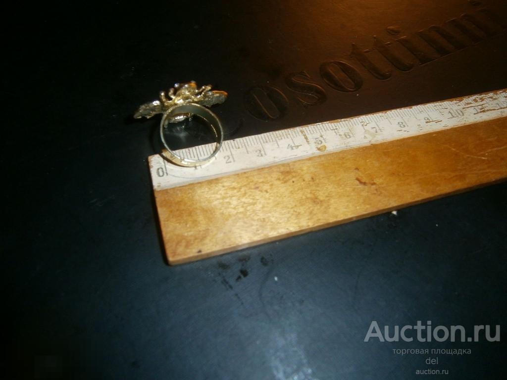 Кольцо, кольцо Пчела, эмаль, ювелирный сплав, стекло, красота, женское кольцо, бижутерия, украшение
