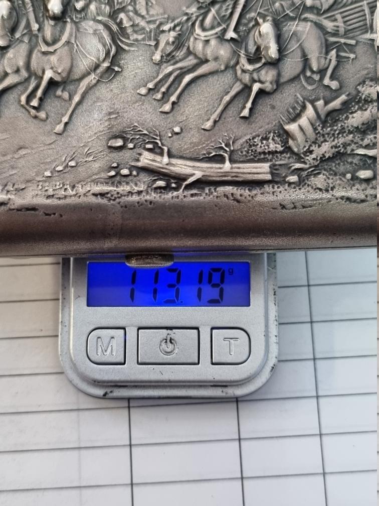 Портсигар Тройка 84пр, 113.19гр