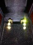 Натуральный бриллиант серьги на 1 карат , из золота 750 пробы с РУБЛЯ !!!
