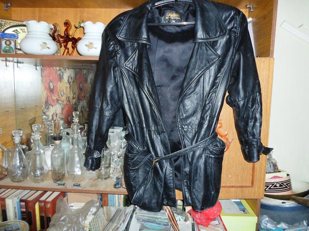 Женская кожаная куртка Лолита (М)