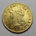2 Луидора 1786 год. К. Франция. Король Людовик XVI. Золото 917 - 15.3 гр. Штемпельная. Редкость! #11