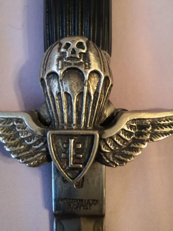 Антикварное оружие. Кортик офицера десантника периода второй мировой войны ВДВ Венгрии