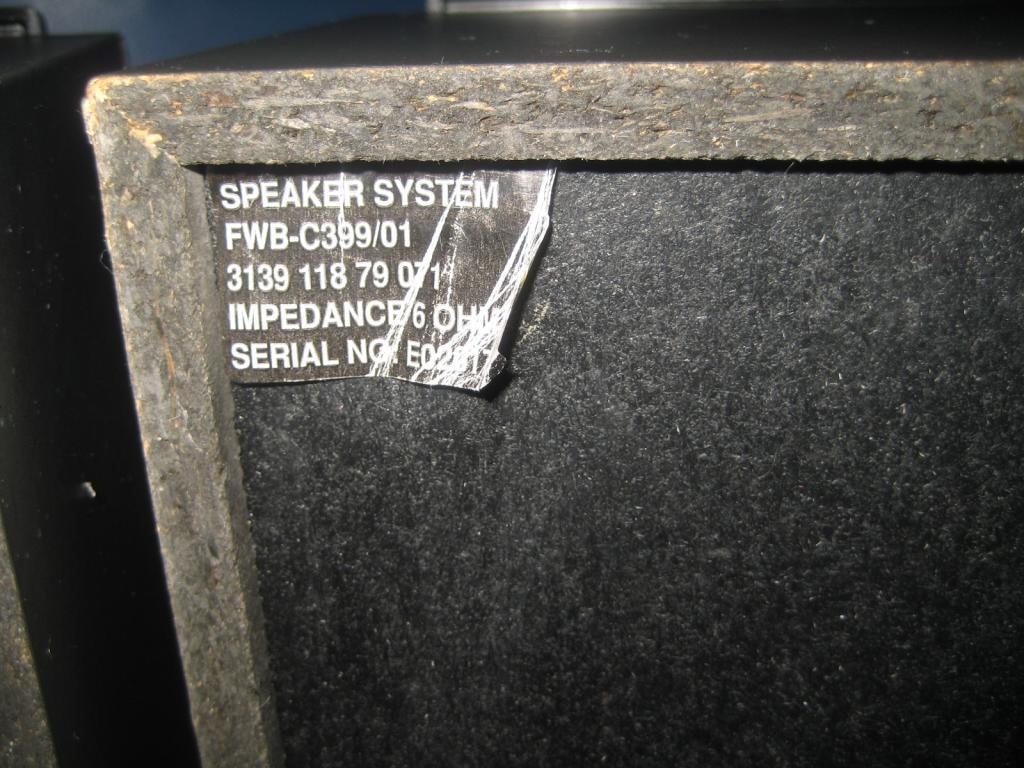 колонки ОТЛИЧНЫЕ РАБОЧИЕ (проверено) Philips speaker system FWB-C399/01