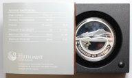 1 доллар 2009 год. Сокровища Австралии. Гранулы алмазы. Серебро 999 - 31.1 гр (1 oz). Редкость!
